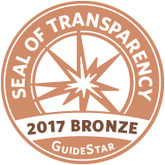 GuideStar - Seal of Transparency 2017 Bronze
