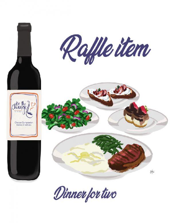 Raffle: Dinner for 2