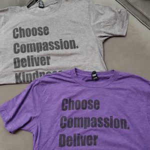 Choose Compassion Purple